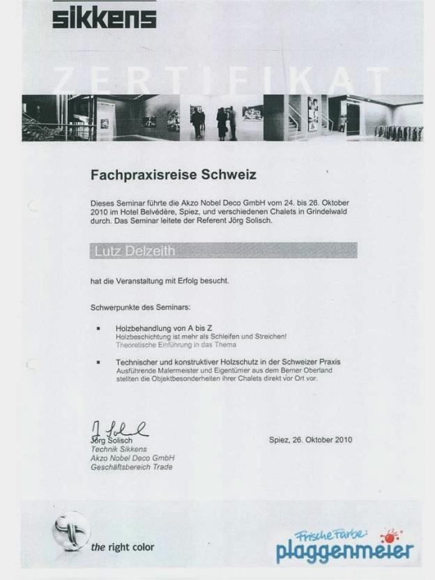 Seminarreise Holzschutz und Holzbehandlung