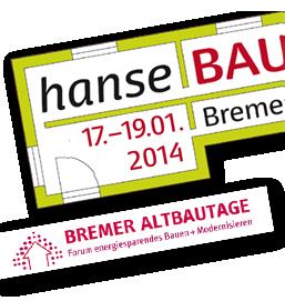 Vorträge auf der Hansebau/Altbautagen - hier ist unser Programm