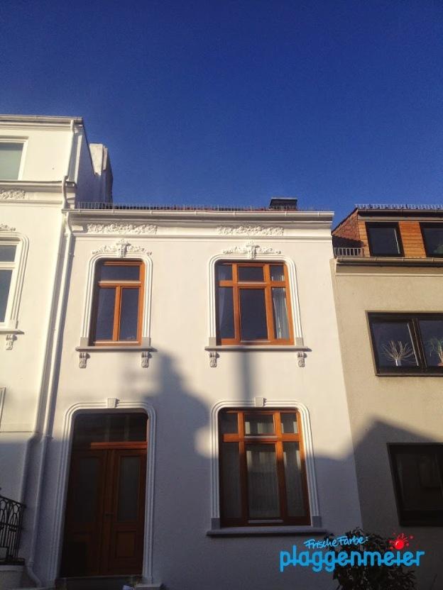 Durch Fassadenanstrich wieder schön! Objekt in Bremen Hastedt.