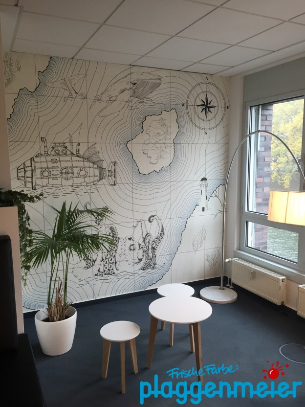 Fototapete in Bremen kommt vom Malereibetrieb Plaggenmeier