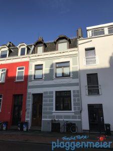 Die Sonne schaut über die Dächer und bescheint unser Fassadenprofil - Spezialist in Bremen sind wir - Malereibetrieb Plaggenmeier