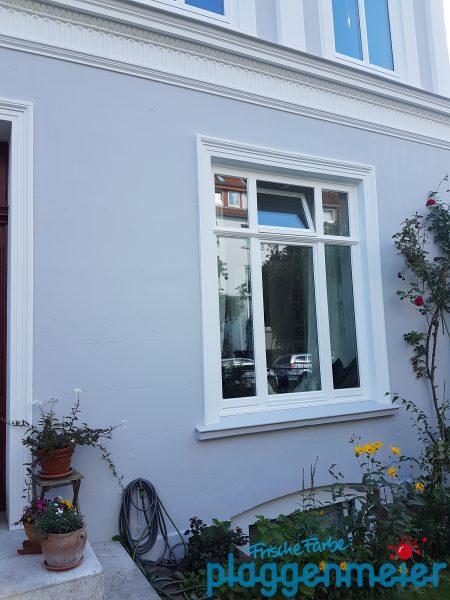 Neue Fensterprofile an der Bremer Gründerzeit-Fassade - Malereibetrieb Plaggenmeier