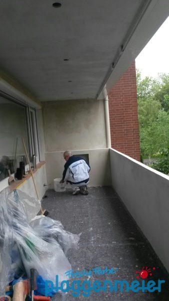 Sauberkeit ist das A und O bei unserer Arbeit, damit es wirklich ein perfekter Balkon wird!
