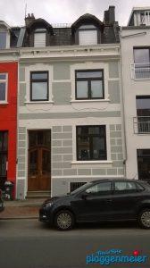 So sieht es fertig aus! Neue Fassade mit Maßprofil und tollem Stuck!
