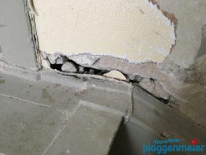 Aus der Renovierung eines Treppenhauses kann auch eine Sanierung werden. - Wenn der Maler richtig berät und verlässlich ist!