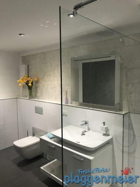 Stilbad für anspruchsvolle Kunden mit individuellen Wandgestaltungen vom Fachmann aus Bremen