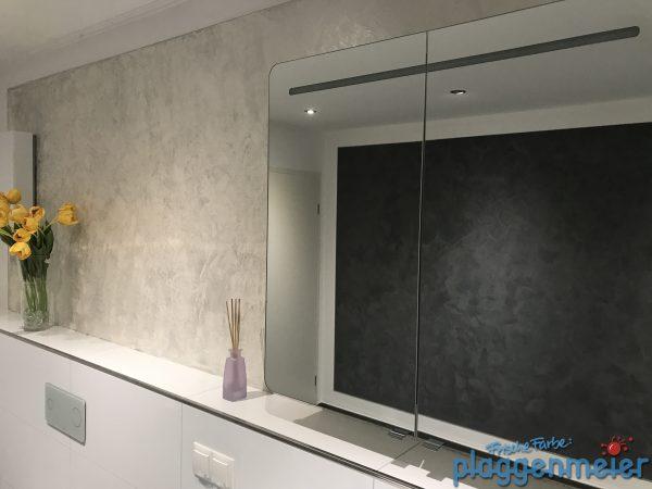 Tolle Wirkung im Bad - unsere Wandgestaltungen in exklusiven und einmaligen Optiken - Bremen Malereibetrieb
