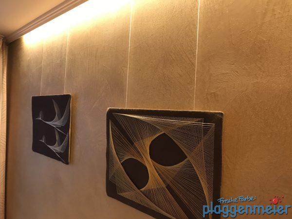 Oberflächen einer Volimea Wandgestaltung in Bremen und Delmenhorst vom Profi Maler Plaggenmeier