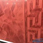 Kalkputz mit gewachster Oberfläche - Gestaltung ist Trumpf beim Wunaschmaler: Bremer Altbautage