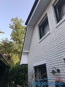 TIPTOP und schnell fertig: wir schaffen Schönheit - auch am Dachüberstand. Dafür sind professionelle Maler in Bremen ja da!