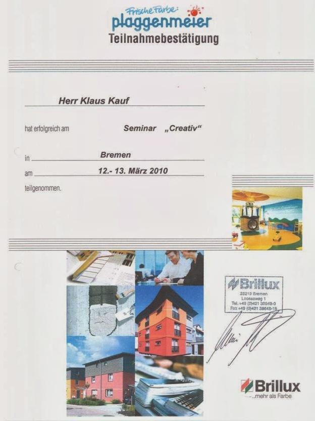 Seminar kreative Fassadengestaltung