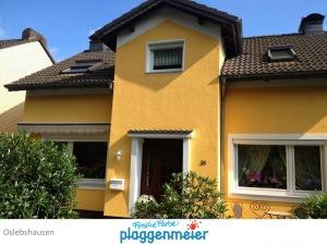 Die Eigentümer werden häufig von Nachbarn und Bekannten auf die Gestaltung ihrer Aussendämmung angesprochen. Profi Maler machen Fassaden.