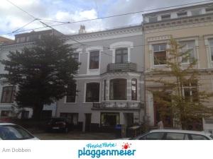 Fassade in der City vom super Maler saniert und gestrichen - Frische Farbe kommt von uns!