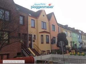 Bunt ist Trumpf - kräftige Fassadenfarben sind bei einer Aussendämmung längst beliebt.