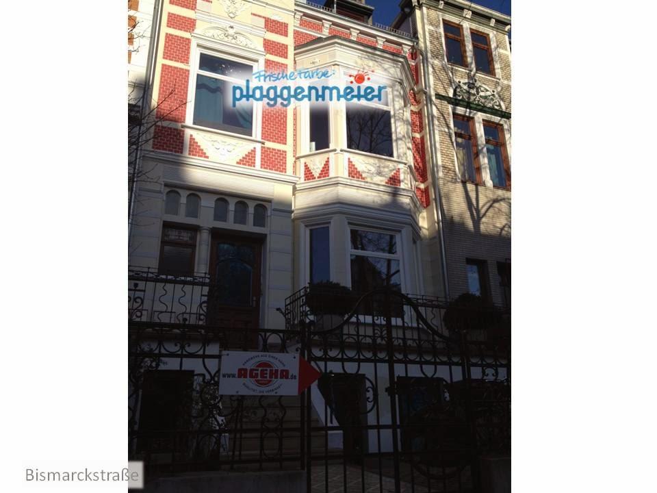 Die Bismarckstraße wird zusehends bunter - wir helfen gerne - Arno Plaggenmeier GmbH