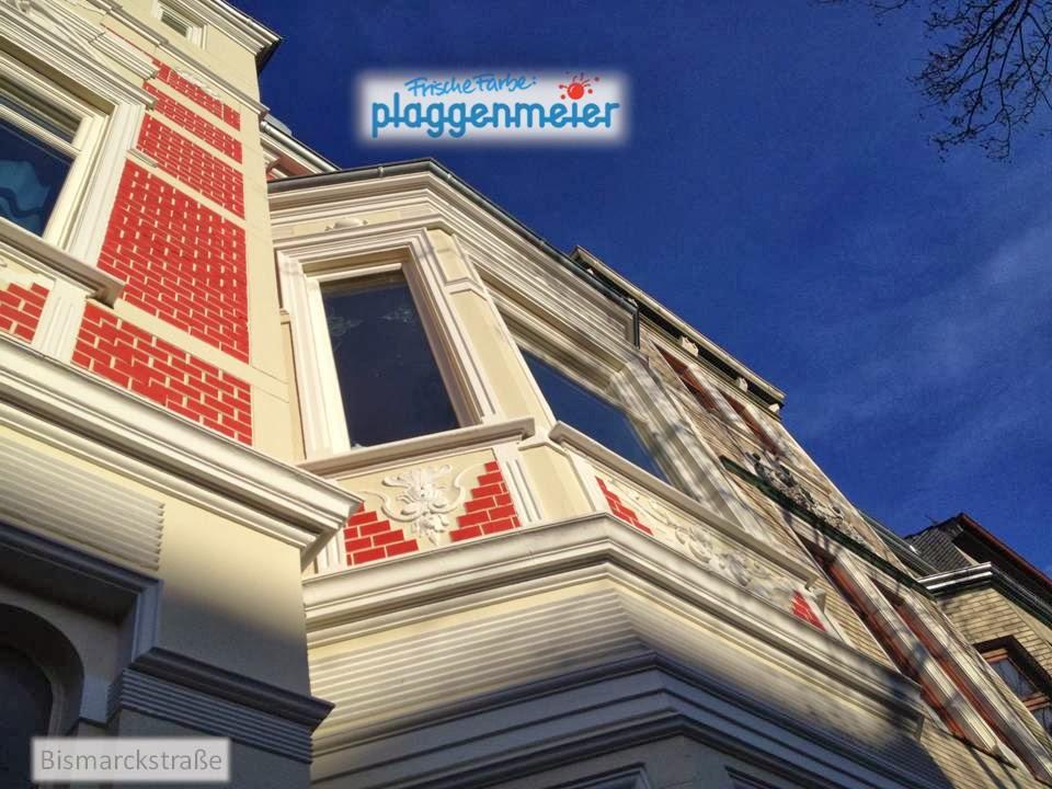 Der detaillierte Blick macht deutlich wie viele Details diese Fassade auszeichnen - Arno Plaggenmeier GmbH
