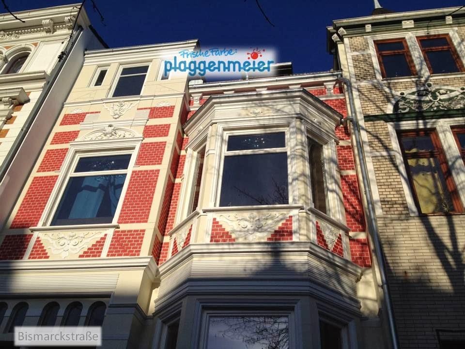 Elegante Anmutung der Front - Fassade als Gesicht des Hauses - Arno Plaggenmeier GmbH