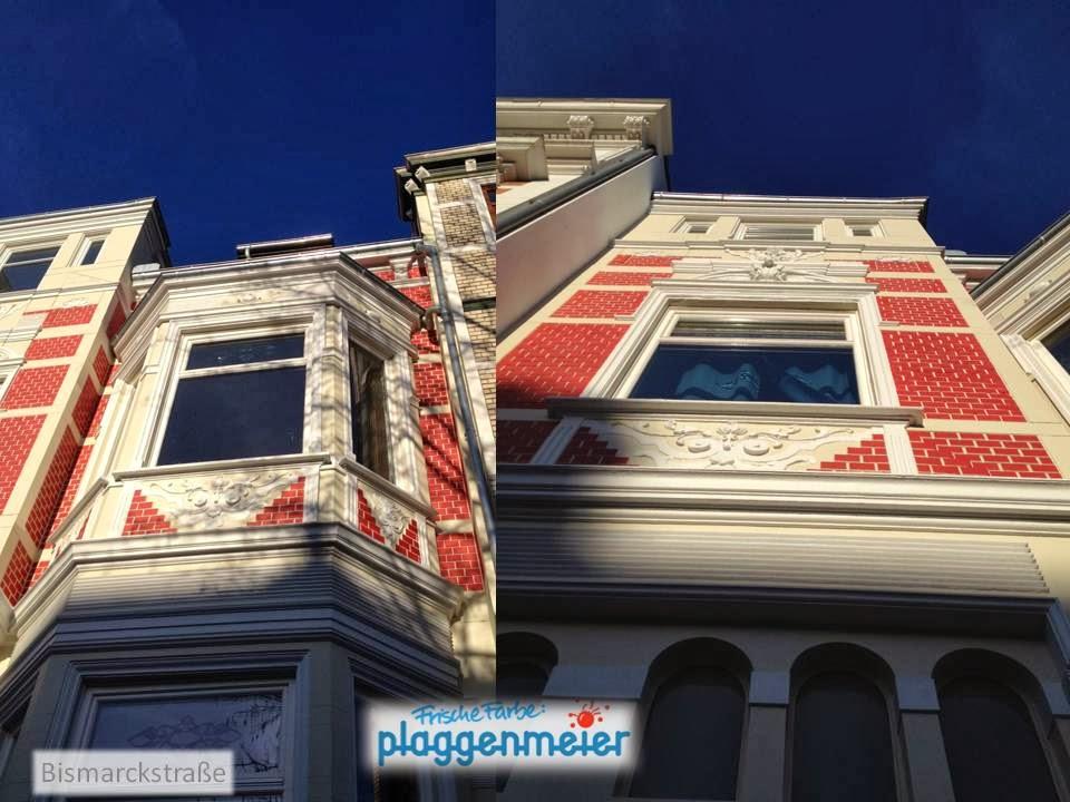 Perspektiven - aus der Nähe besonders beeindruckende Fassadenornamente - Arno Plaggenmeier GmbH
