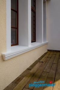 Hochwertige Fensterbänke in vielgenutzten Bereichen sind eine echte Empfehlung