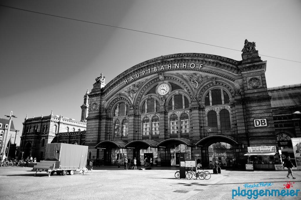 Ein schöner Anblick - unser Hauptbahnhof Bremen