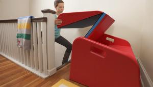 Treppenrutsche leicht verstaut!