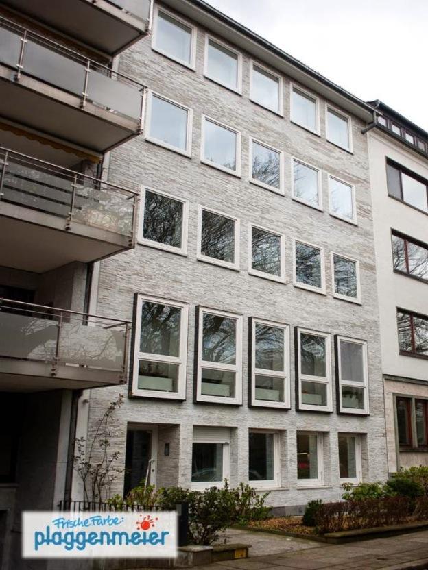 Eine tolle Marmorfassade in der Bremer City, von uns gepflegt und aufgefrischt