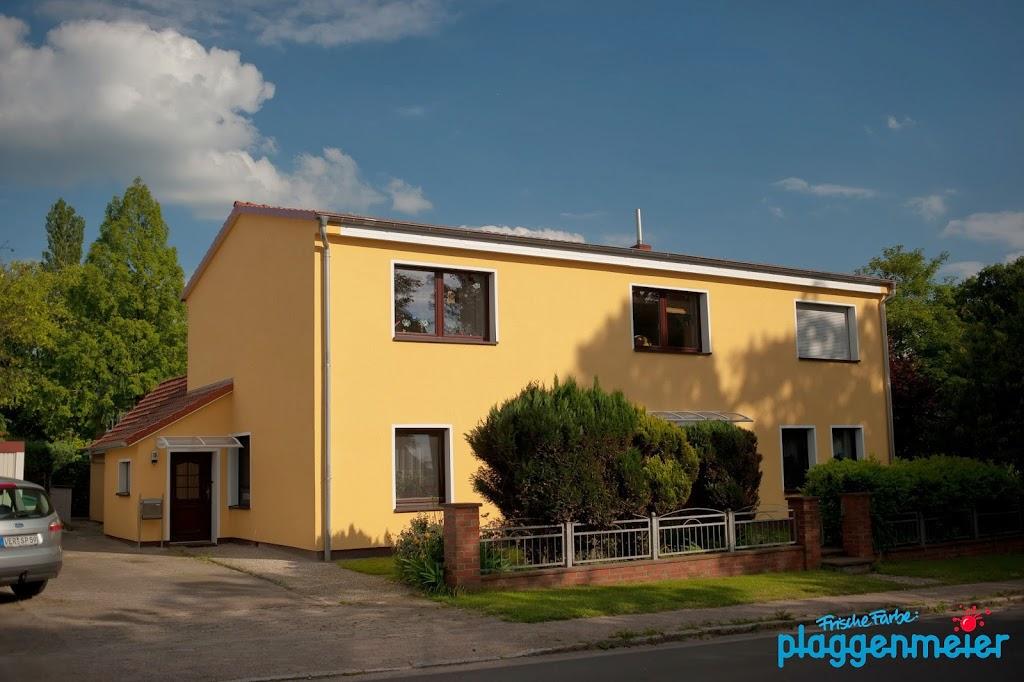 Hier wohnt man gerne in einem fachgerecht sanierten Haus - Wärmedämmverbundsystem vom Malerfachbetrieb Plaggenmeier