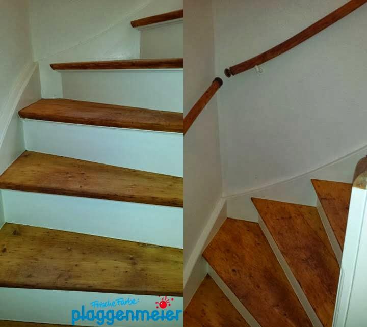 Treppen können schön sein - Mut zur Gestaltung vom Bremer Malereibetrieb Plaggenmeier