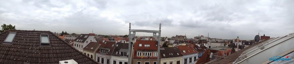 Als Maler kommen wir of hoch hinaus. Hier ein Blick aufs Steintorviertel in Bremen - Plädoyer für einen Podcast im Handwerk