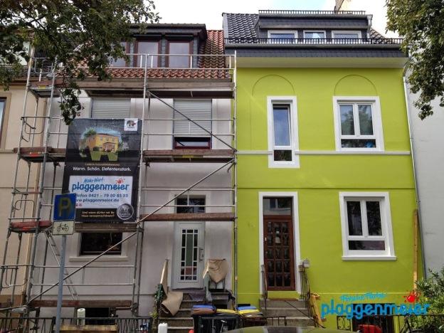Empfehlung in Bremen: Malerarbeiten und WDVS kommen von uns!