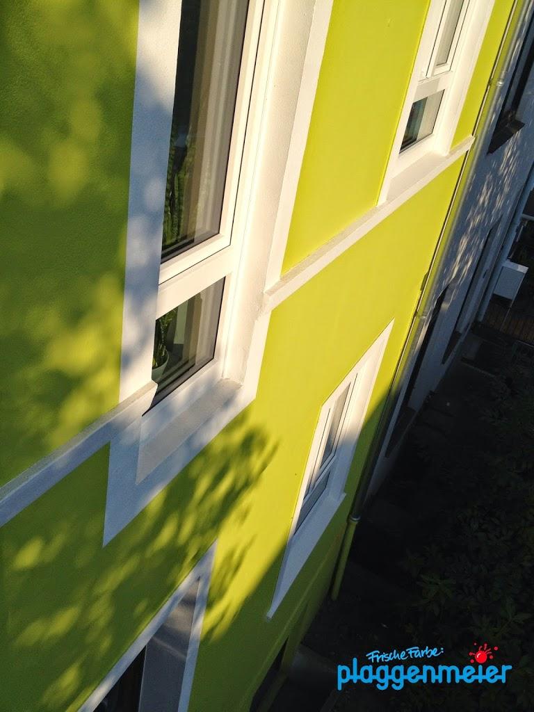 Malerfachbetrieb gestaltet Fassadenarbeiten optimal - Altbremer Wände frisch gemalt