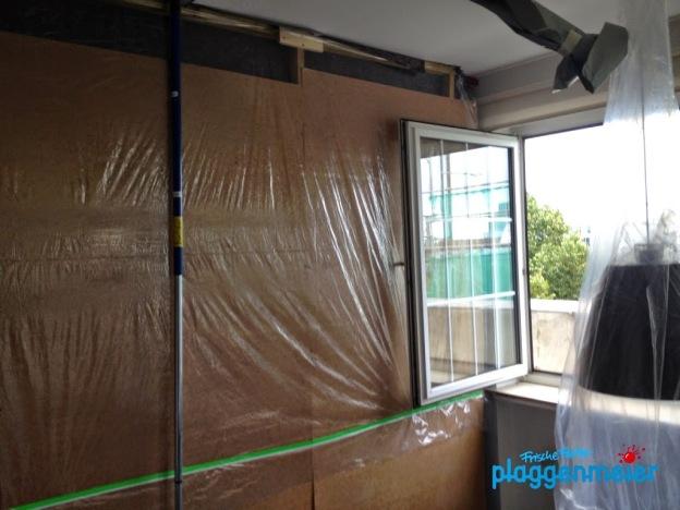 Unsere Maler machen saubere Arbeit: Vor- und Nachbereitung inklusive.