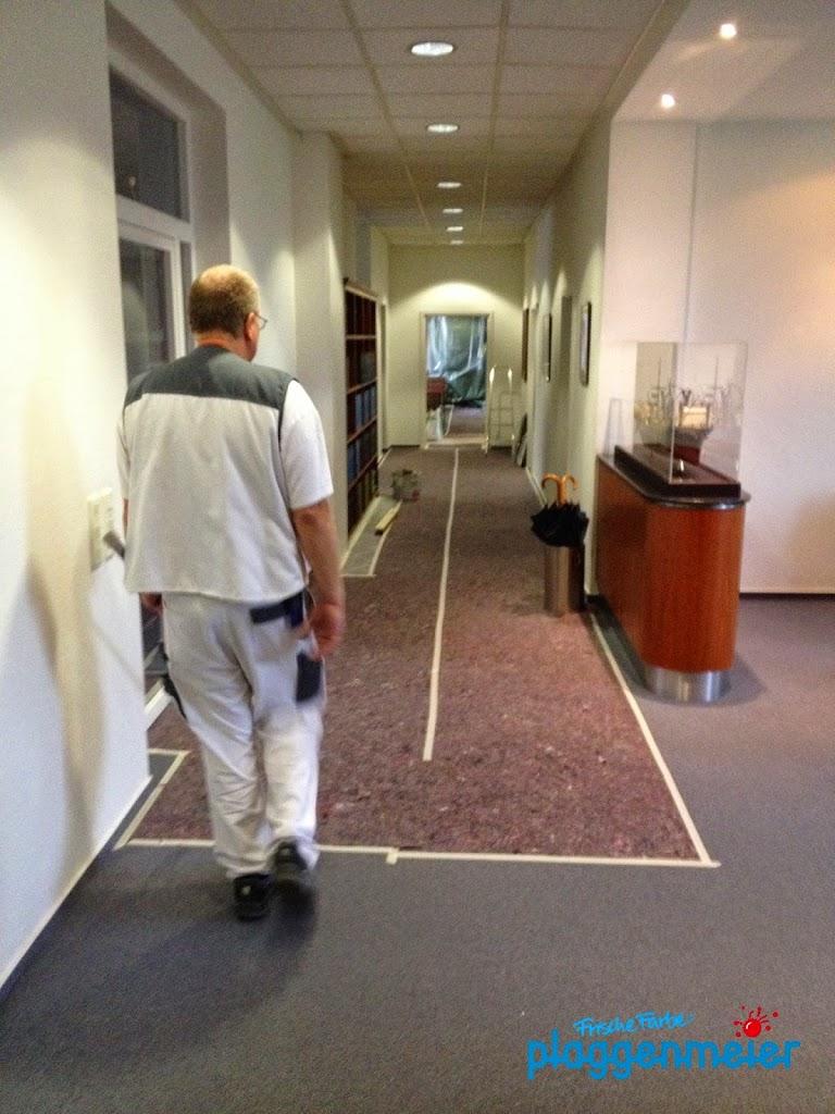 Malen besonders schön - die Maler vom Meisterbetrieb Arno Plaggenmeier leisten saubere Arbeit