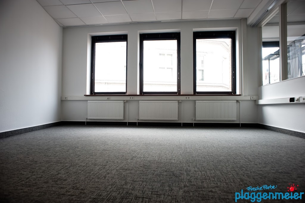 175 m² wurden mit diesen speziellen Teppichfliesen von Interface verlegt.