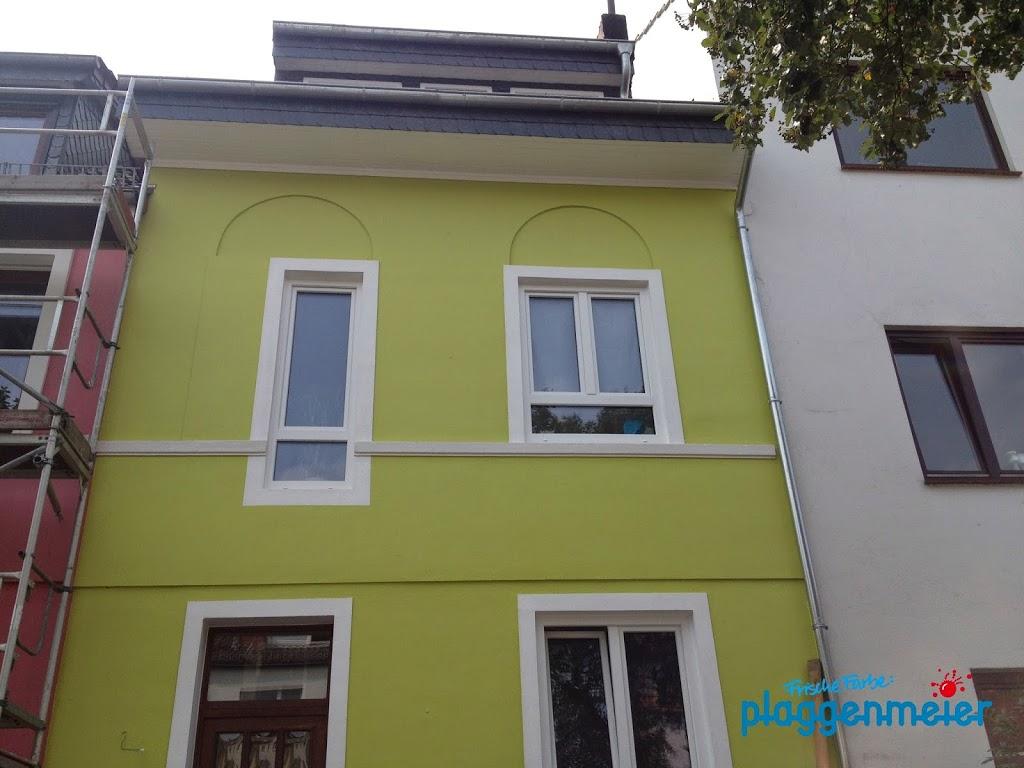 Familiengerechter Look - frisch gestrichene Fassade vom Malermeister