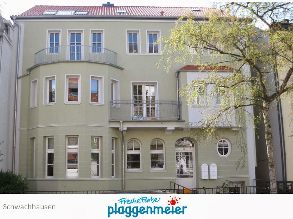 Perfektes Fassadenbild vom traditionsreichen Fachbetrieb, der auch morgen noch für Gewährleistungsfragen in Bremen gerade steht. Zu finden auf dem Hausbesichtigungstag.