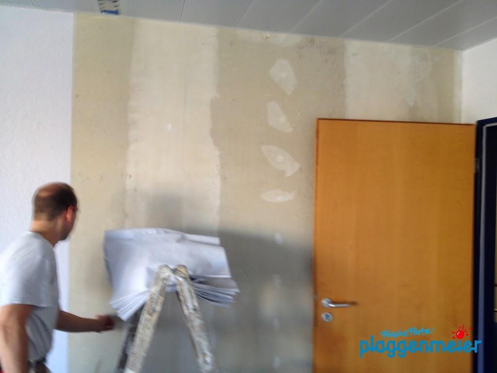Just in Time im Malerhandwerk - alle Gesellen und Auszubildenden Maler und Lackierer arbeiten wie am Schnürchen - Malerinnenarbeiten