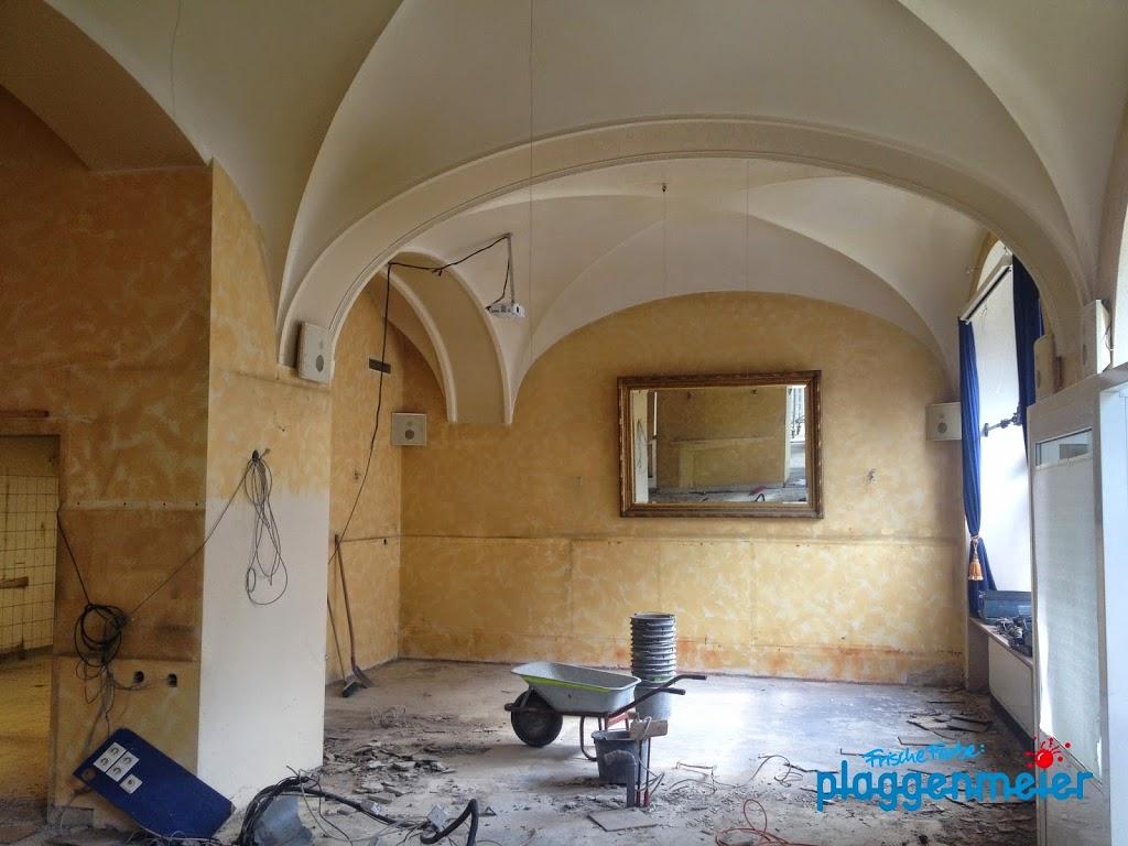 Professionelle Malerarbeiten wissen die Kunden zu schätzen. Hier hat uns der Architekt ins Boot geholt, weil wir Barbara van Heests Konzepte im Sudhaus umsetzen sollen.