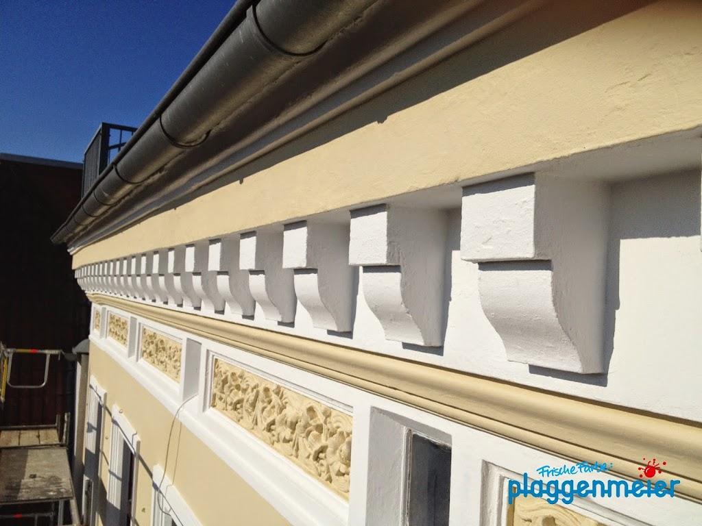 Viel Erfahrung und Fingerspitzengefühl bei Fassadensanierung erforderlich - das gibt´s nur beim besten Bremer Maler.