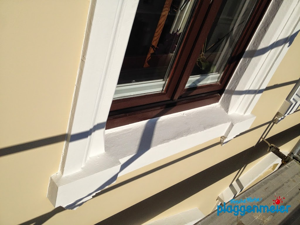 Auf Genauigkeit kommt es beim Maler immer an - Fassadensanierung am besten vom Fachbetrieb in Bremen.