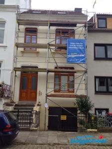 Fullservice vom Malermeister - wir kümmern uns um den Fassadenanstrich in Bremen