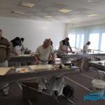 Konzentration auf dem Valpaint Seminar vom Kreativ Spezialisten in Bremen