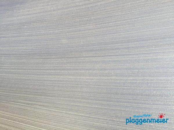 Metallic Look kann eine eigene Struktur bekommen - Streifendesign vom Malereibetrieb Plaggenmeier