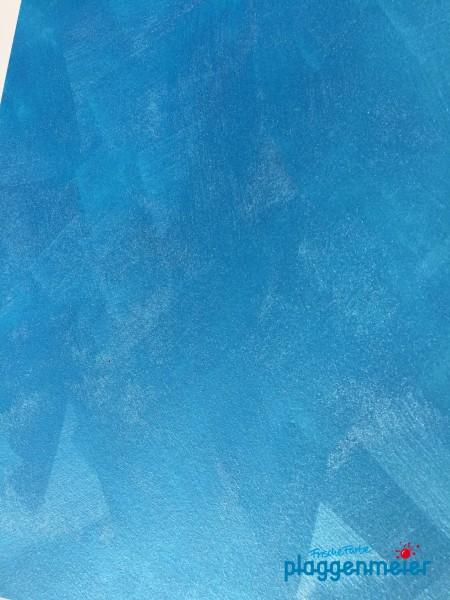 Blau-Metallic Optik für coolen Raumlook - Spitzen-Malerteam Plaggenmeier
