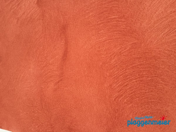Gesetzte Oberfläche in toller Haptik vom Fachmann: Valpaint Design Velidor