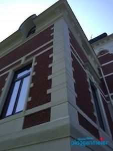 Schattenseite? Eine Schwachhausener Fassade ist von allen Seiten schön - wenn der Maler seinen Job richtig macht!
