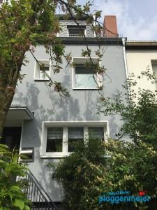 Reihenmittelhaus - Fassadendämmung perfekt auf dem Hausbesichtigungstag 2015