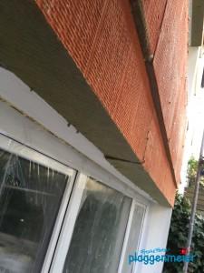 Baufortschritt einer Dämmfassade - gute Gestaltung fängt schon bei der Planung an!