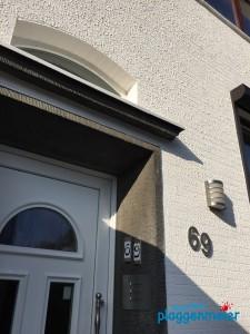 Fassadenstruktur: Tolle Kontraste zum Naturstein - Maler Bremen