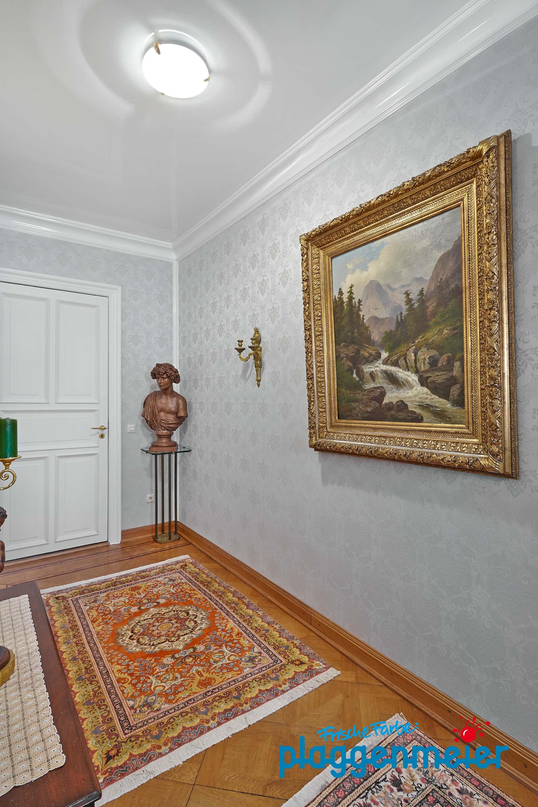 Klassisch Moderne Wand  Und Deckengestaltung